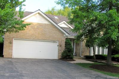 West Bloomfield, West Bloomfield Twp Condo/Townhouse For Sale: 5045 Oakbrooke Drive