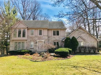 Farmington Hills Single Family Home For Sale: 28853 Glenbrook Drive