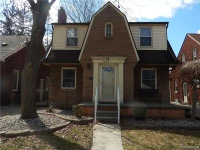 Wyandotte Single Family Home For Sale: 2384 22nd Street