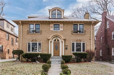Detroit Single Family Home For Sale: 18054 Birchcrest Drive
