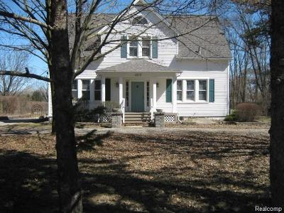 Shelby Twp Single Family Home For Sale: 6019 Auburn Road