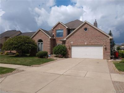 Macomb Twp Single Family Home For Sale: 54153 Ashley Lauren Drive