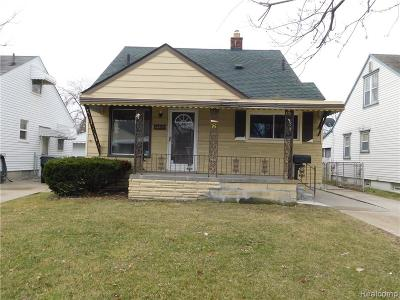 Allen Park Single Family Home For Sale: 14917 Oconnor Avenue