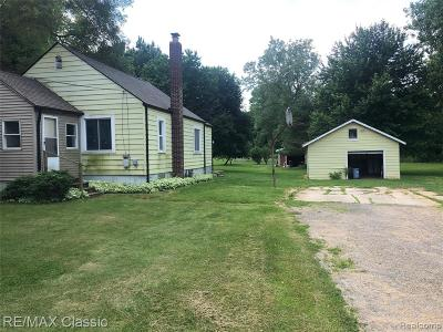 Canton Single Family Home For Sale: 4868 Barr Road
