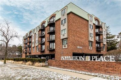 Birmingham Condo/Townhouse For Sale: 35300 Woodward Avenue #408