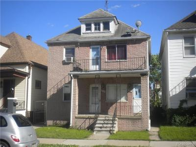 Hamtramck Multi Family Home For Sale: 3432 Evaline Street