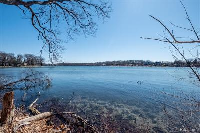 Orchard Lake MI Residential Lots & Land For Sale: $1,899,000
