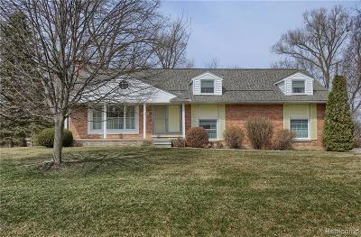 Farmington Hills Single Family Home For Sale: 29024 Kendallwood Drive