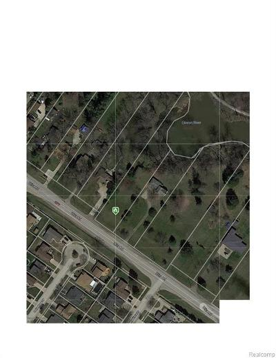 Sterling Heights Residential Lots & Land For Sale: 39466 Utica Road