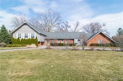 Bloomfield Twp Single Family Home For Sale: 1516 Ardmoor Drive