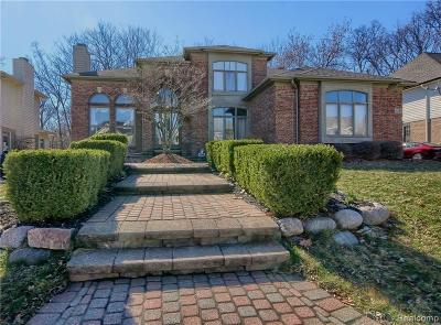West Bloomfield Twp MI Single Family Home For Sale: $659,000