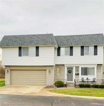 Sterling Heights Condo/Townhouse For Sale: 4504 15 Mile