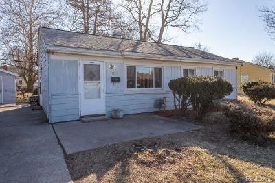 Ypsilanti Single Family Home For Sale: 413 Burton Court