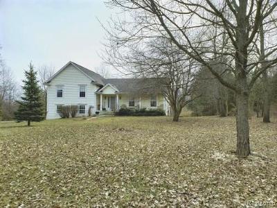 Single Family Home For Sale: 5768 Jones Road