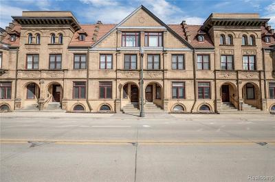 Detroit Condo/Townhouse For Sale: 2552 John R