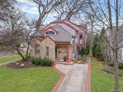 Birmingham Single Family Home For Sale: 1709 Washington Boulevard