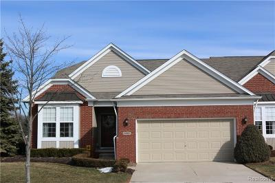 Macomb Twp Condo/Townhouse For Sale: 23065 Lorenbrook Boulevard