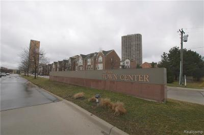 Southfield Condo/Townhouse For Sale: 20100 Rodeo Court