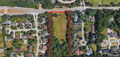 Bloomfield Twp Residential Lots & Land For Sale: 700 E Square Lake Road