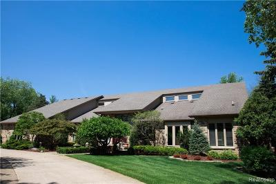 Rochester Hills Single Family Home For Sale: 1651 Washington Road