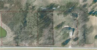 Shelby Twp Residential Lots & Land For Sale: 8543 25 Mile Road