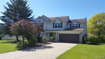 West Bloomfield Twp Single Family Home For Sale: 2572 W Bloomfield Oaks Drive