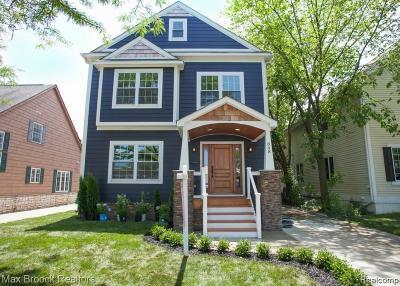 Birmingham Single Family Home For Sale: 848 E Lincoln Street