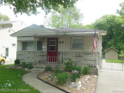 Livonia Single Family Home For Sale: 12236 Cavell Street