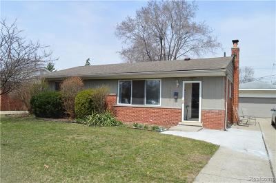 Farmington Hills, Farmington, Livonia, Redford Single Family Home For Sale: 32432 Joy Road