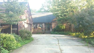Bloomfield Twp Single Family Home For Sale: 2285 Rutherford Road