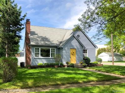 Canton, Plymouth Single Family Home For Sale: 1342 Junction Street