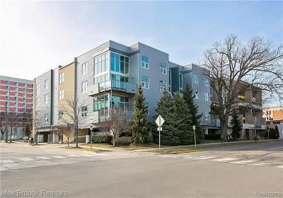 Royal Oak Condo/Townhouse For Sale: 614 S Troy Street #209