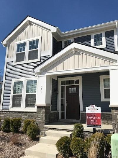 Ferndale Single Family Home For Sale: 407 College Street