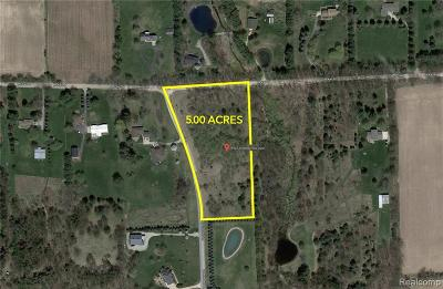 Bruce Twp Residential Lots & Land For Sale: 79922 Scottish Hills Drive