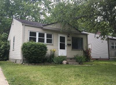 Warren Single Family Home For Sale: 13023 Sarsfield Avenue