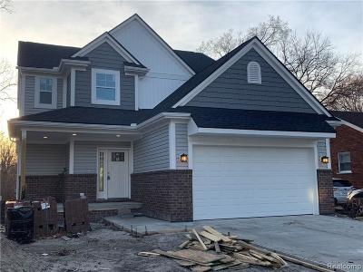 Oak Park Single Family Home For Sale: 14021 Sherwood Street