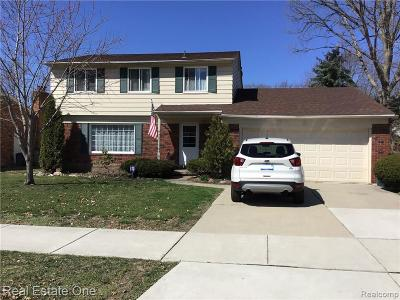 Clinton Twp Single Family Home For Sale: 23481 King Drive