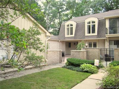Bloomfield Twp Condo/Townhouse For Sale: 1152 Hillpointe Circle