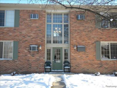 Rochester Condo/Townhouse For Sale: 454 Romeo Road #226