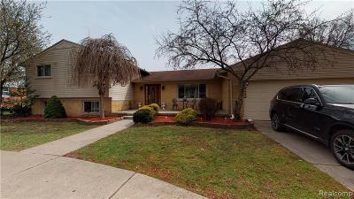 Dearborn Heights Single Family Home For Sale: 26245 Doxtator Street