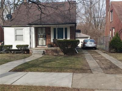 Detroit Single Family Home For Sale: 19321 Greenview Avenue
