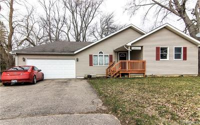 Genesee Twp Single Family Home For Sale: 4357 Stanley Rd