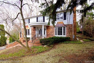 Birmingham Single Family Home For Sale: 1498 Suffield Avenue