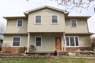 Canton, Canton Twp Single Family Home For Sale: 6888 Willow Creek Dr Drive