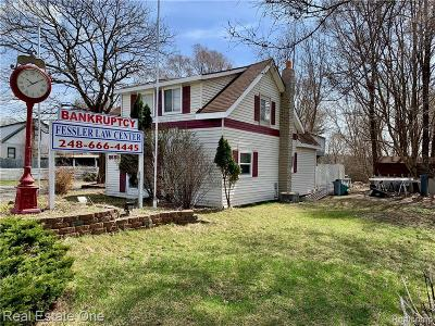 Oakland County Commercial For Sale: 8685 Highland Road