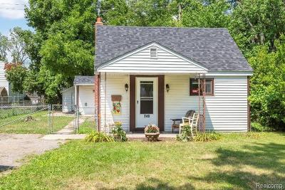 Ypsilanti Rental For Rent: 749 Mildred