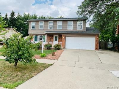 Canton, Canton Twp Single Family Home For Sale: 41760 Wayside Drive