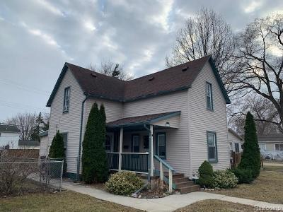 Riverview Single Family Home For Sale: 11563 Grant Street