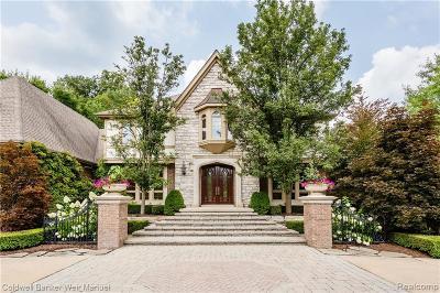 Novi Single Family Home For Sale: 47870 Bellagio Court