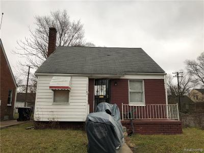 Detroit Single Family Home For Sale: 20400 Hanna Street